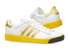 bnib ADIDAS FOREST HILLS UK 7 White / Gold / Yellow  spezial CQ2083