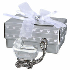 Pc Craft Crystal Souvenirs Baby Stroller Baby Shower Christening Favor