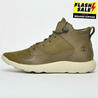 Timberland FlyRoam Hiker Men's Urban Causal Outdoor Ankle Boots Khaki B Grade