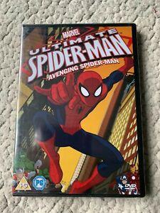 MARVEL ULTIMATE SPIDER-MAN AVENGING SPIDER-MAN - ANIMATED DVD NEW