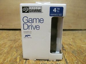 Seagate - Game Drive for PS4 4TB External USB 3.0 Portable Hard Drive ( LOT CCT)
