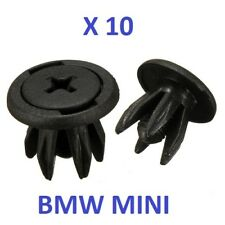 BMW MINI INNER WHEEL ARCH LINER FASTENERS CLIPS COOPER S ,ONE,R50 R52 R53 R56