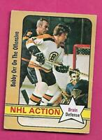 1972-73 OPC # 58 BRUINS BOBBY ORR ACTION  GOOD CARD (INV# C4856)