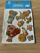 More details for vintage 1980's strawberry shortcake vinyl stickers