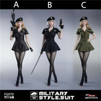 "Fire Girl Toys 1/6 FG070 Us army style seamless tights set for 12"" Hot Toys body"
