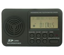 DIGITAL VOICE & TELEPHONE CALL RECORDER on DIRECT LANDLINE CABLE / BT HOME PHONE