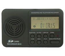 DTR4 Grabadora digital de voz registrador automático de llamada de teléfono Monitor para teléfono fijo