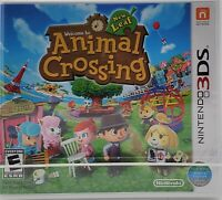 Animal Crossing: New Leaf (Nintendo 3DS) BRAND NEW FACTORY SEALED