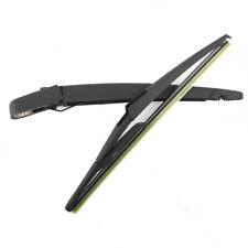 Rear Wiper Blade & Arm For Nissan Qashqai Dualis 2006-2017 black windshieldwiper