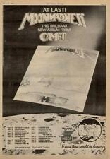 Camel Hazzard Barnes UK Tour advert 1976