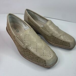 LUFPOLSTER ARA Women's slip on leather shoes Size US 6 German made RRP $189