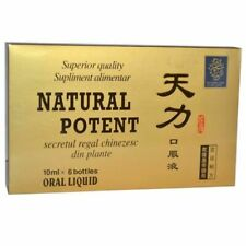 Improvement of Sexual Performance Natural Potent 6x 10ml free shipping