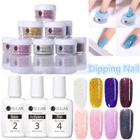 UR SUGAR 5ml Dipping Nail Powder Holographic Glitter 15ml Nail Dipping Liquid