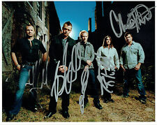 Brad ARNOLD & 3 Doors Down Band Signed Autograph 10x8 RARE Photo AFTAL COA