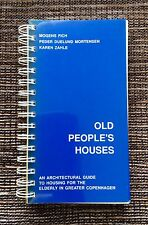 VERY RARE 1995 Old People's Houses: Architectural Guide to Housing in Copenhagen