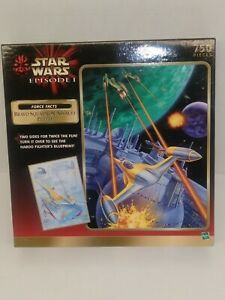 Lot of 2 Different Sealed Star Wars Jigsaw Puzzles Empire Strikes Back Episode 1