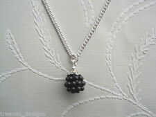 Acrylic Silver Plated Charm Costume Necklaces & Pendants