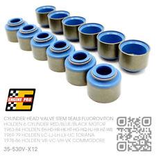 VALVE STEM SEALS 6 CYL 161-173-186-202 MOTOR [HOLDEN HK-HT-HG-HQ-HJ-HX-HZ-WB]