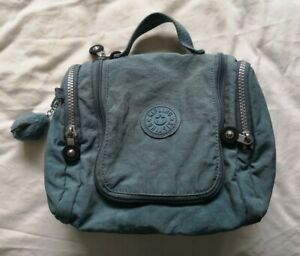 Kipling Women's Blue Hanging Toiletry Bag Used Condition
