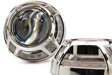 2x Panamera 2.0 LED Switchback - Morimoto Profile Prism Pivot w/ Centric Rings