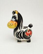 Russisch Porzellan Figur Zebra #0219