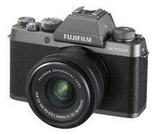 Fujifilm X-T100 24.2MP Digital Camera - Dark Silver (Kit with XC15-45mm F3.5-5.6