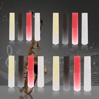 Resin Plastic Clarinet Soprano Alto Tenor Sax Saxophone Reed Accessories Parts