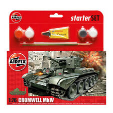 Airfix Cromwell CRUISER Set básico MILITARY Modelo Kit Tanque Ejército NUEVO