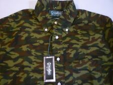 GITMAN BROS VINTAGE Camouflage Shirt New With Tag $220 M Made In USA