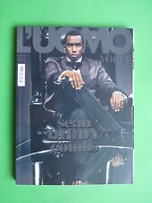 L'UOMO VOGUE magazine Ottobre/October 2008 n.394 SEAN DIDDY COMBS THE KISS