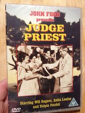 Judge Priest-Will Rogers(R2 DVD)New+Sealed Anita Louise John Ford Western 1934