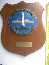 USS Holland AS 32 Ship Crest Plaque