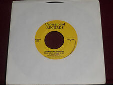 "PETER & GORDON ""True Love Ways"" Underground URC 1088 Canada Press!"
