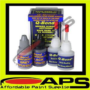 Q-Bond SMALL Plastic Repair KIT System Bonding Glue