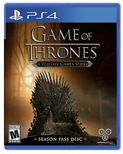 NEW Game of Thrones A Telltale Games Series (Sony PlayStation 4, 2015)