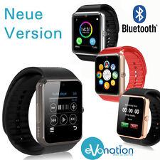 Smart Watch Bluetooth Armbanduhr für iOS iPhone Android + Kamera SIM Handys GT08
