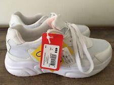 Bnwt Women Fila Size 8 White Sneaker Shoe, Rrp- $59