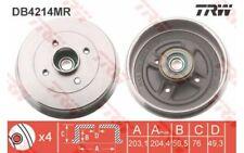 TRW Juego de 2 tambores frenos RENAULT CLIO SC?NIC TWINGO DACIA LOGAN DB4214MR
