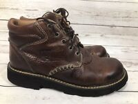 Ariat Women's Boots 9.5 B Lace Up Western Work Hiking Ankle Brown Leather 17728