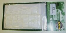 Ratio 216 Lineside Fencing White. (Plastic Kit) N Gauge Railway Model