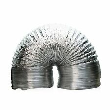 "Garden Smart Aluminum Ducting 12"" Inch x 25' Feet Air Ventilation Clamps"