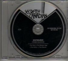 (CL611) Exitmusic, From Silence - 2011 DJ CD
