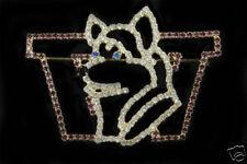 Crystal UW Logo Pin - University of Washington - Ltd Ed