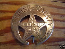 Badge: Cochise County Sheriff, Lawman, Police, Old West