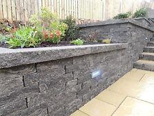 Garden Walling, Graphite, 3 Mixed Sizes, Landscape Walling, 3.1m2 Pack, modern