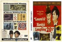 Laurel & Hardy Laughing 20's  Dvd of classic silent slapstick comedy film