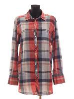 GANT Women's checked long sleeved Shirt Size UK 20