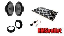 VW Caddy Mk3 03 on Audison Prima Coaxial Speaker Upgrade pack inc Dynamat