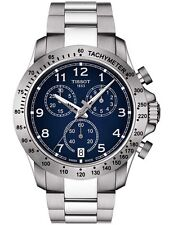 Tissot Men's V8 T1064171104200 Blue Dial Swiss Chronograph Date Racing Watch