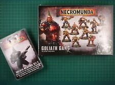 Goliath Gang Box + Goliath Weapons Set 2 Forge World Necromunda 11920